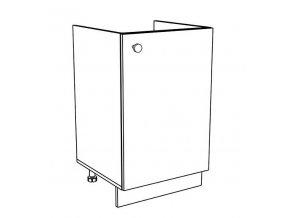50DZ dolní skříňka pod dřez EKO bílá
