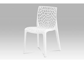 Jídelní židle, bílá CT-820 WT