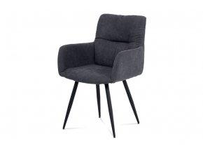 Jídelní židle - šedá látka, HC-225 GREY2