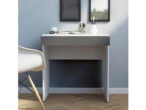 Psací stůl Felix 480 bílá/grey