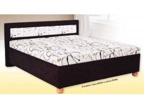 MALVÍNA je celočalouněná vysoká postel  vysoká postel s úložným prostorem