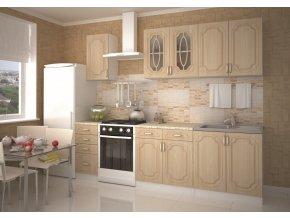 Kuchyně ANASTASIA 200 s D40/S4 bříza