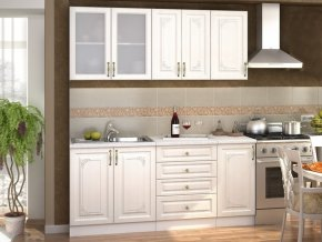 Kuchyně VICTORIE 180 bílý santál