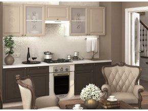 Kuchyně VERSAILLES II 260 smokie soft/latte soft