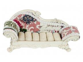 Stojánek na prstýnky - tvar sofa