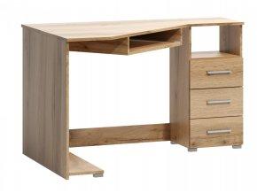 Rohový psací stůl Fatra 18 pravý dub wotan