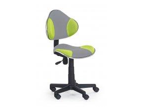 Židle QZY-G2 šedo zelená
