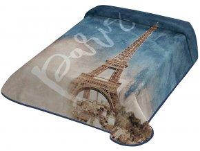 Španělská deka 303 - modrá, 160x220 cm