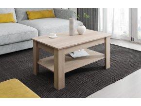 Konferenční stolek Viola dub sonoma
