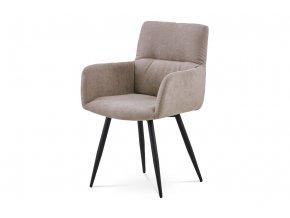 Jídelní židle - latté látka, HC-225 LAT2