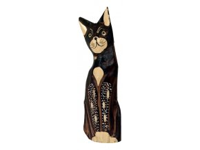 Dřevořezba - kočka