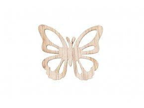 Motýlci dřevění, 24 kusů v plastové krabičče, cena za 1 krabičku