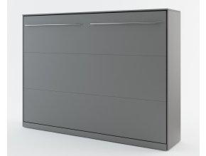 Výklopná postel 140 CONCEPT PRO CP-04 šedá