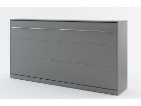 Výklopná postel 90 CONCEPT PRO CP-06 šedá