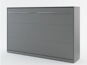 Výklopná postel 120 CONCEPT PRO CP-05 šedá