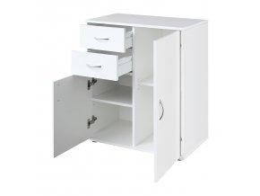 Prádelník 1504 bílý