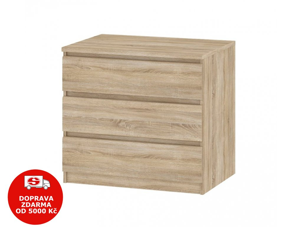 Komoda Simplicity 076 oak