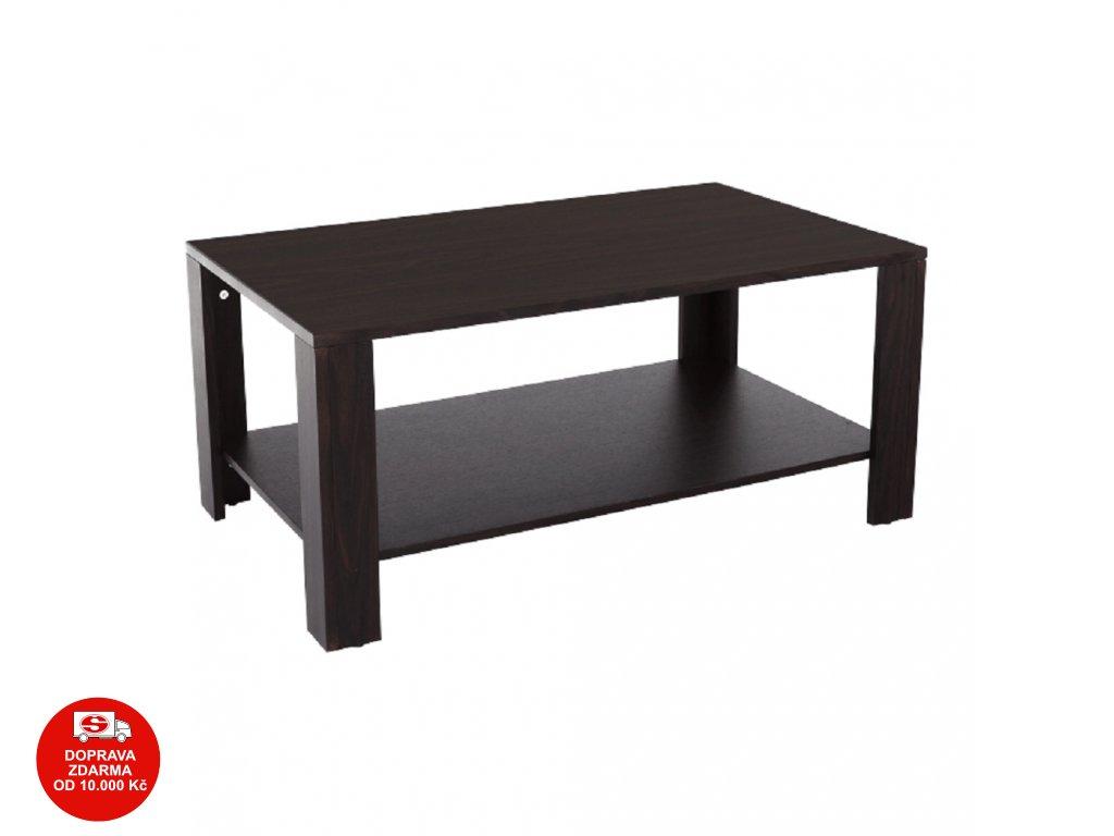 Konferenční stolek, wenge, TROY