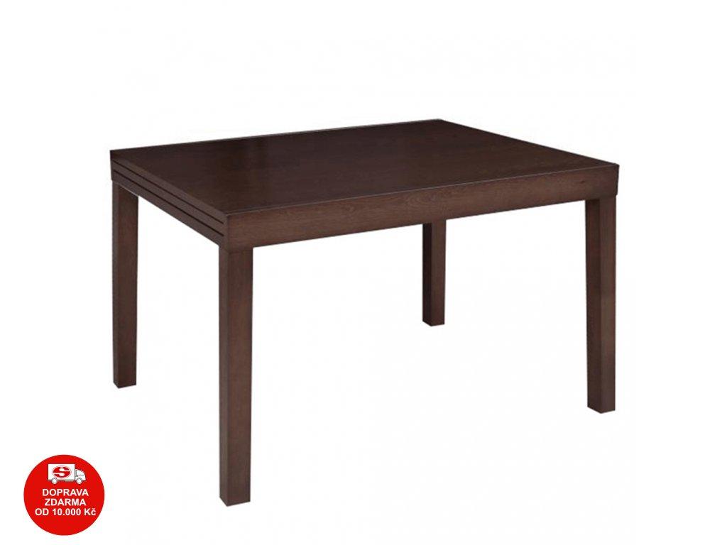Jídelní stůl, rozkládací, wenge, FARO