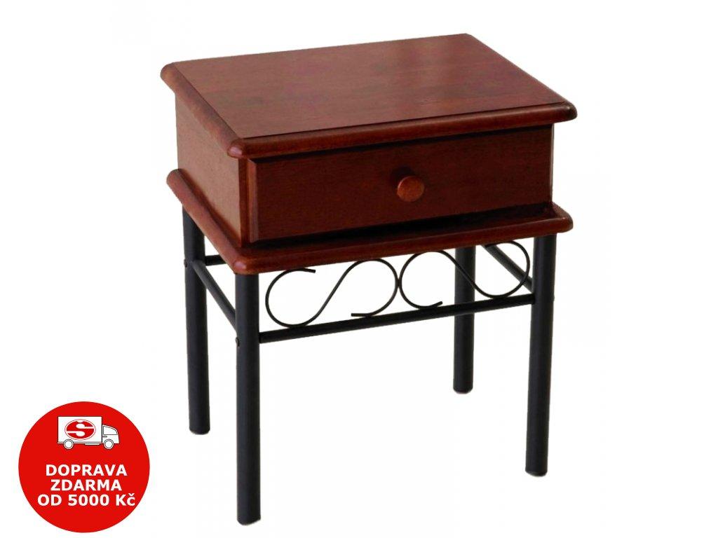 Noční stolek Dita třešeň