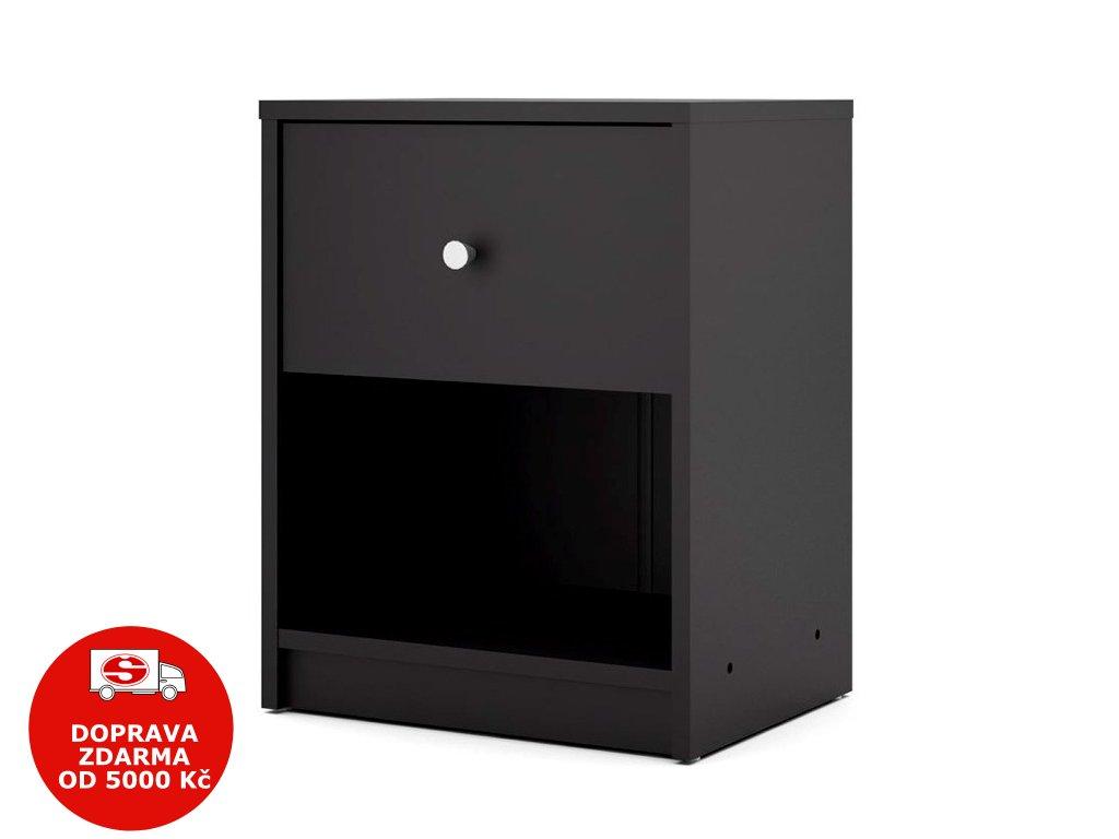 Noční stolek Myra 331 černý