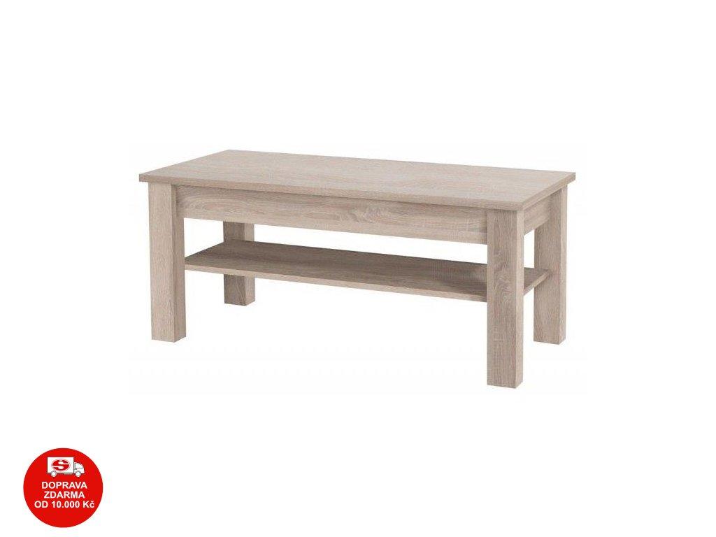 Konferenční stolek Cezanne R19 sonoma
