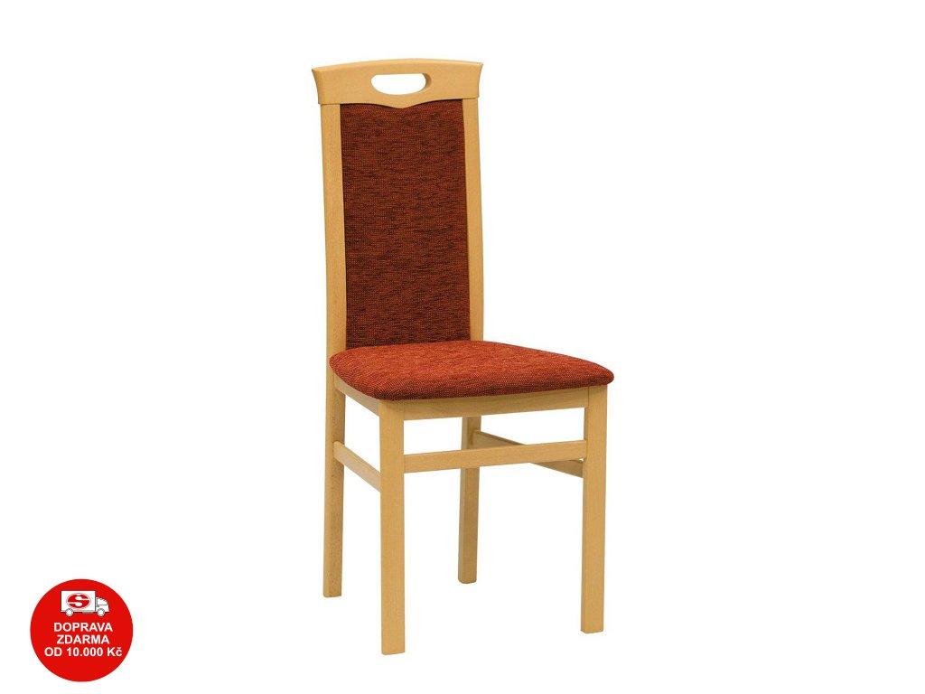 Židle BENITO třešeň miron terracotta 22