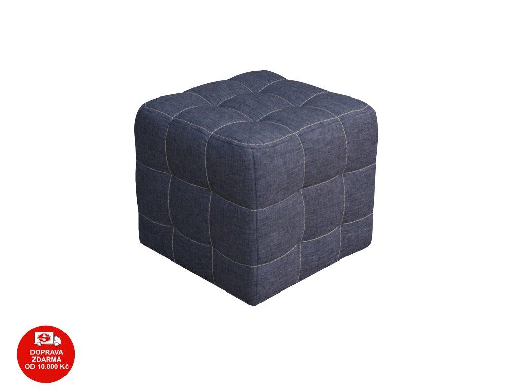 Taburet Zara malý šedý