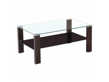 Konferenční stolek, wenge/sklo, JAGO