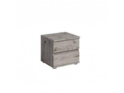 Noční stolek, 2ks, dub Welington, TOGOS