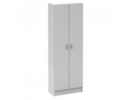 Botníková skříň, bílá, MARÍNA