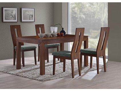 Jídelní set MORIS stůl+NELA židle 1+4
