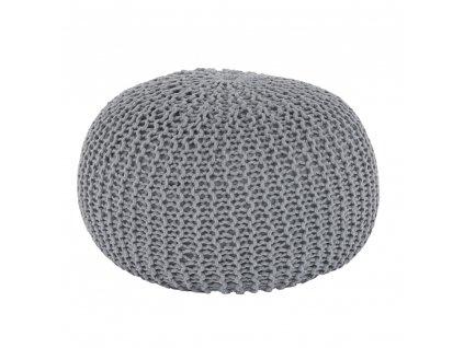 Taburet, bavlna šedá, Taman TYP 2