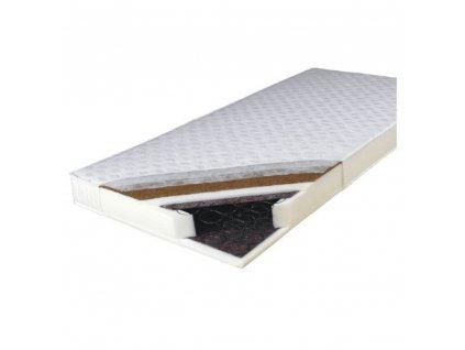 Matrace, oboustranný, pružinový, 180x200, KOKOS MEDIUM