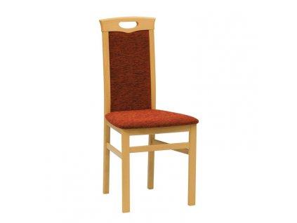 Židle BENITO třešeň miron marrone 801