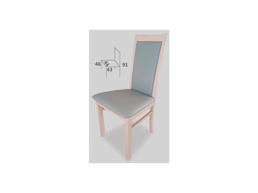 Jídelní židle Pitra B57