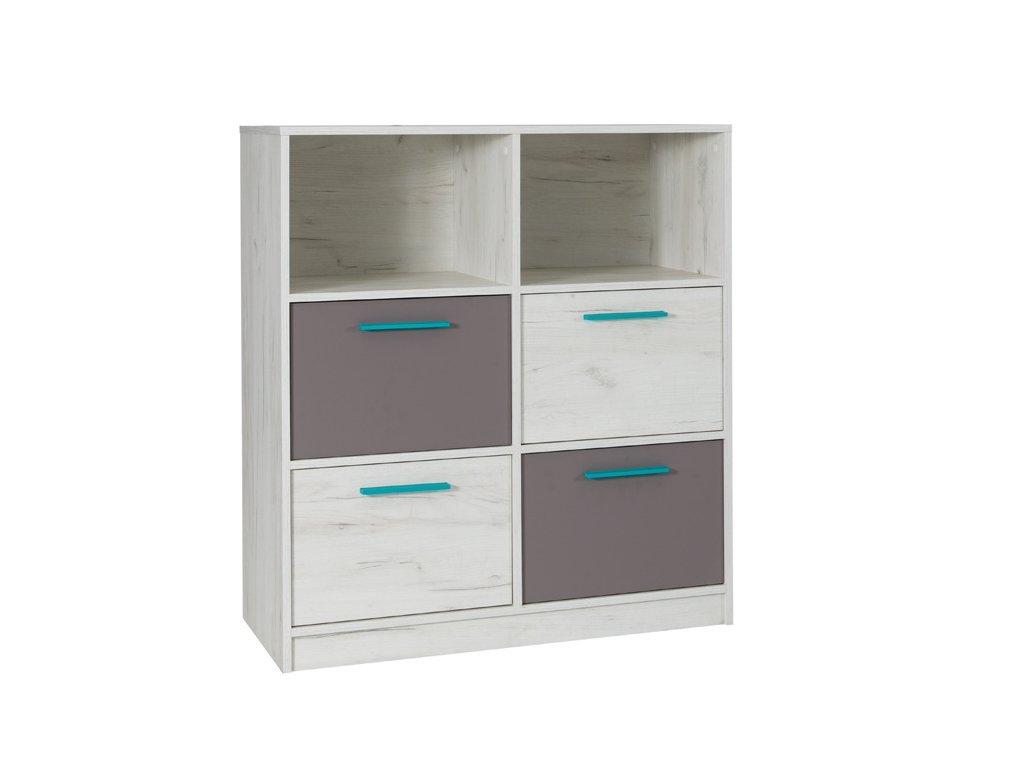 R04 komoda 4 szuflady