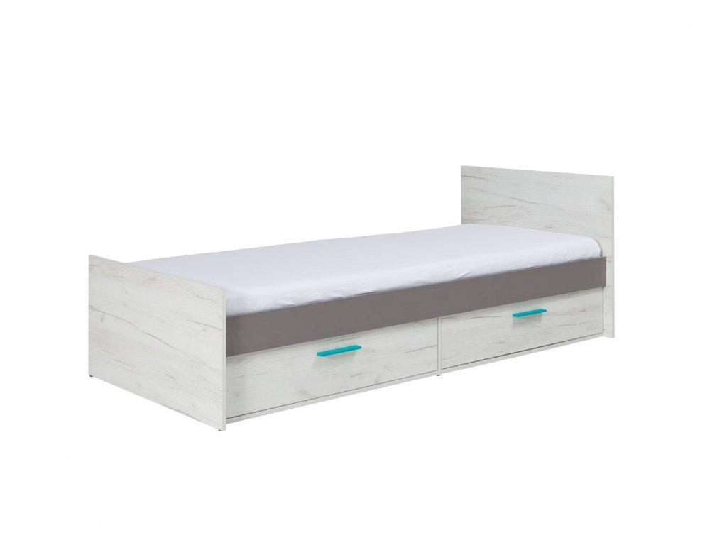 R05 lozko z szufladami