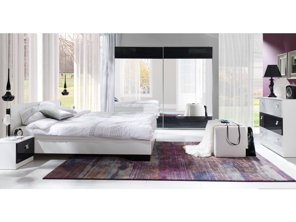 sypialnia Lux stripes czarna