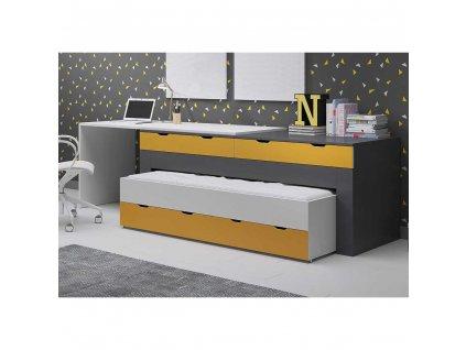 łóżko biurko komoda smart