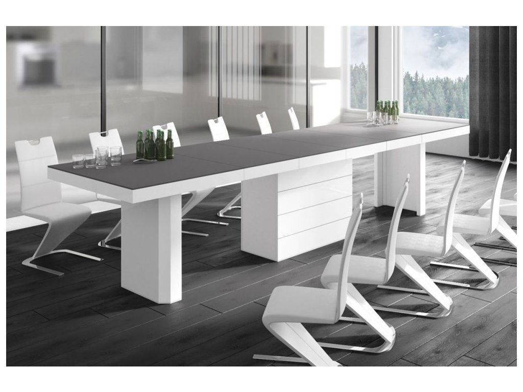 Jedálenský stôl KOLOS MAT 140 cm