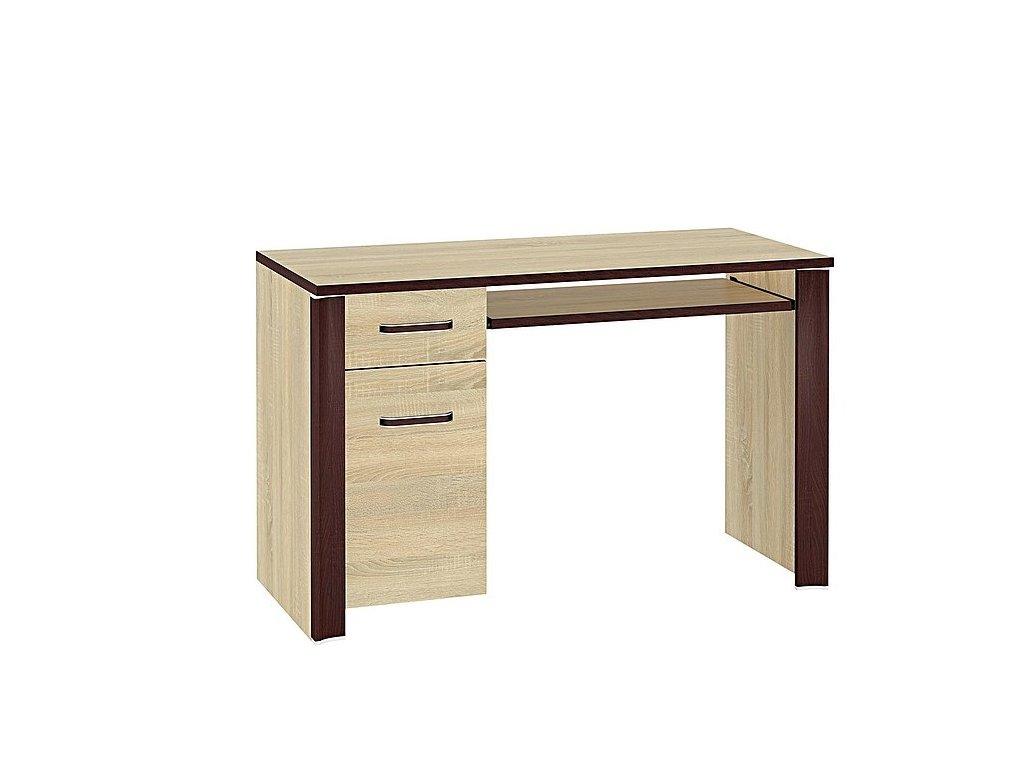 Písací stôl Oliwier 15 dub Sonoma svetlý