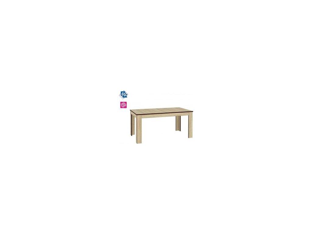 Jedálenský rozkladací stôl Oliwier 17 dub Sonoma svetlý