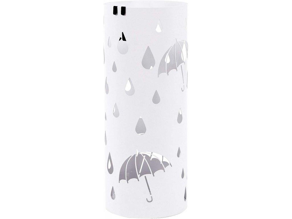 Stojan na deštníky SONGMICS kulatý, bílý, LUC23W