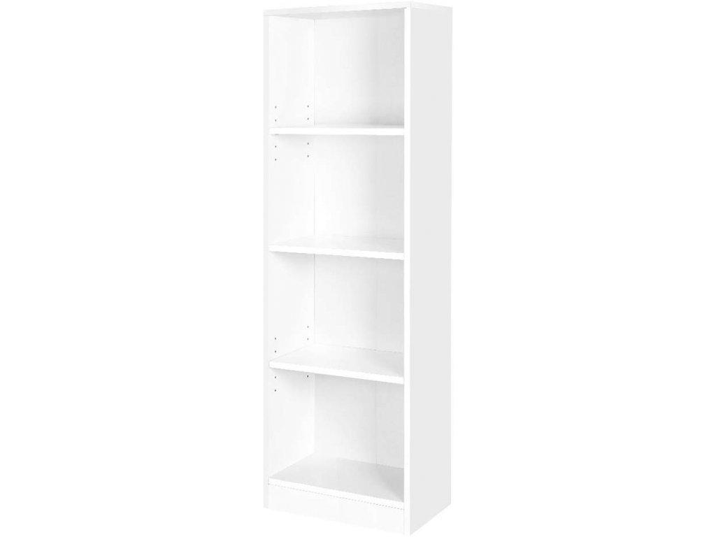 Knihovna LBC104W, bílá