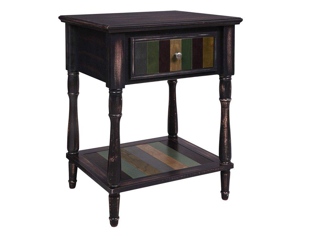 Odkládací stolek se zásuvkou 50x50 cm1