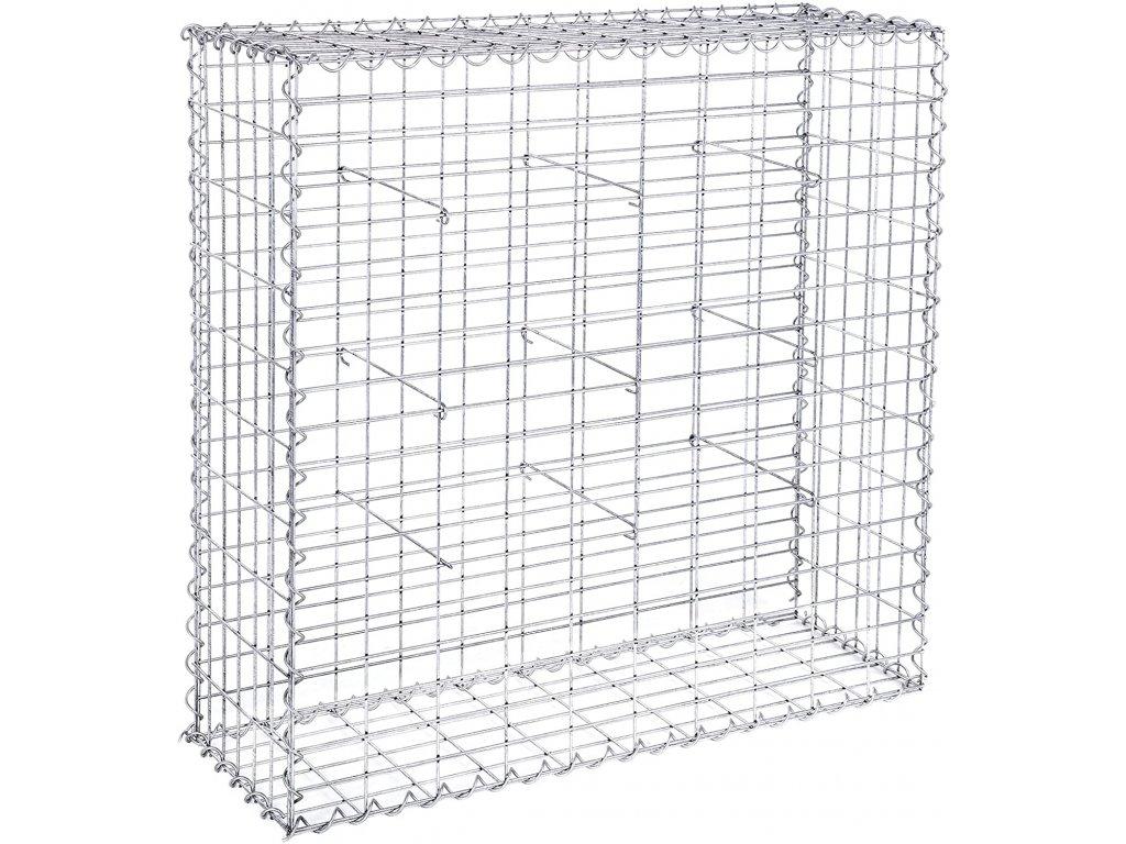 Gabiónová sieť 100x95x30 cm