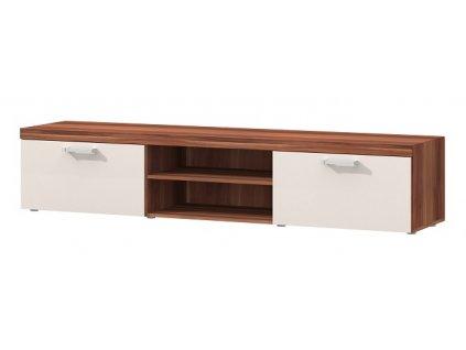 TV stolík SAMBA 8 slivka/krém