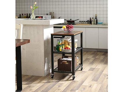 kuchyňský odkládací stolek na kolečkách LRC78X2