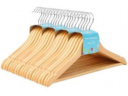 drevená ramienka 20 ks prírodná